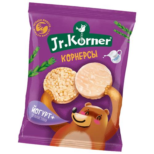цены Корнерсы рисовые Jr.Korner Йогурт+цельные злаки 60 г