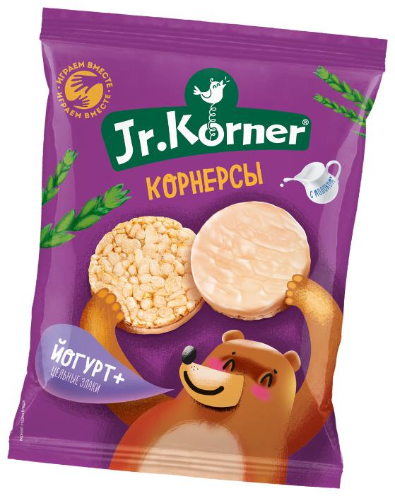 Мини хлебцы рисовые Jr.Korner Йогурт+цельные злаки 60 г