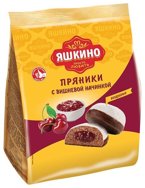 Пряники Яшкино С вишнёвой начинкой 350 г