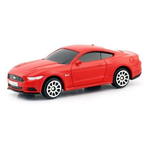Купить Легковой автомобиль RMZ City Ford Mustang 2015 (344028SM) 1:64, матовый красный, Машинки и техника