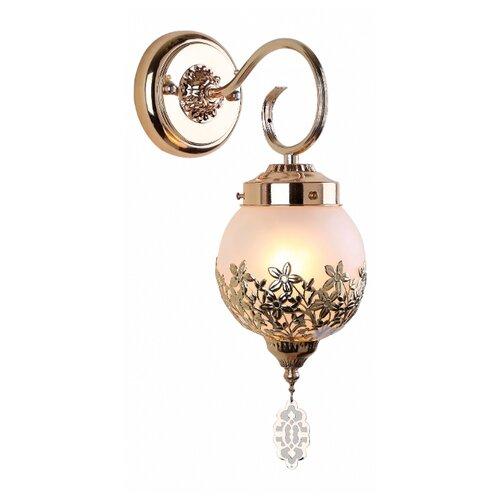 Настенный светильник Arte Lamp Moroccana A4552AP-1GO, 60 Вт встраиваемый светильник arte lamp a1203pl 1go
