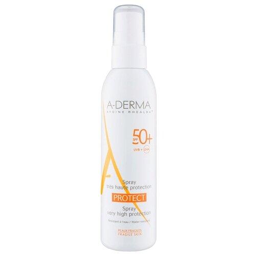 A-Derma Protect солнцезащитный спрей SPF 50 200 мл derma косметика