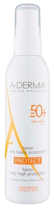 A-Derma Protect солнцезащитный спрей SPF 50