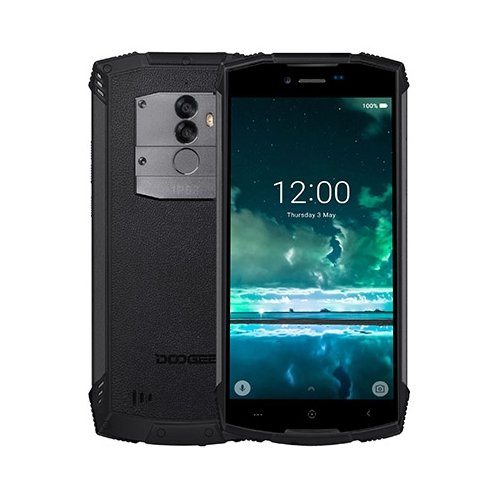 Смартфон DOOGEE S55 черный минерал смартфон