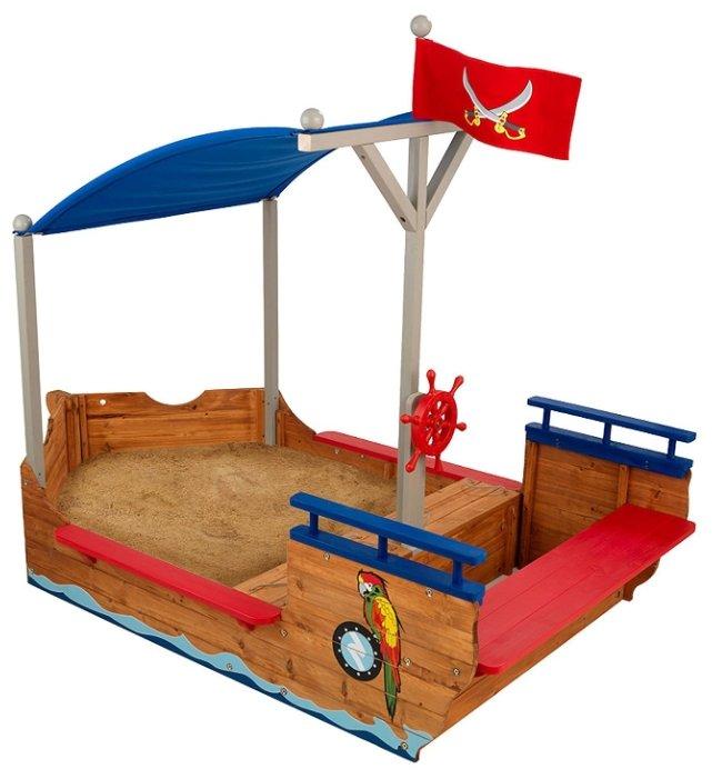 Песочница KidKraft Пиратская лодка (00128_KE)