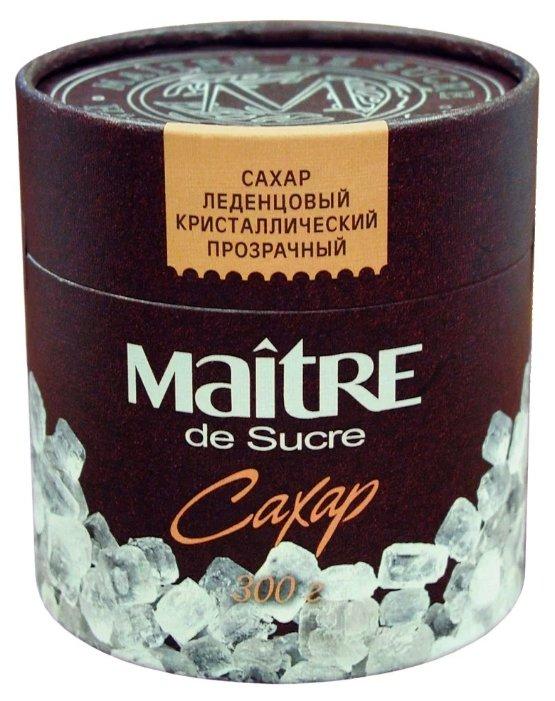 Сахар MAITRE леденцовый прозрачный кристаллический, 300 гр.