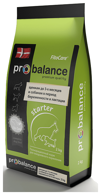 Корм для собак ProBalance Starter