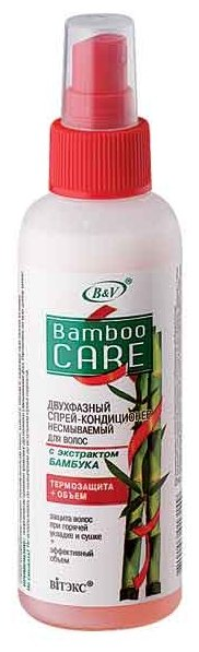 Витэкс Bamboo Care Двухфазный спрей-кондиционер для волос