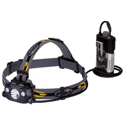 Налобный фонарь Fenix HP30R черный фонарь fenix hl15 черный налобный 2xааа 4режима белого 2режима красного 200лм