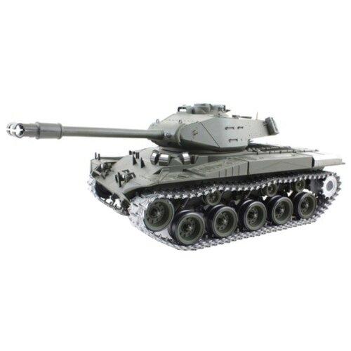 Танк Heng Long M41A3 Walker Bulldog (3839-1PRO) 1:16 52 см серый танк heng long dak pzkpfw iv ausf f 1 3858 1pro 1 16 40 3 см бежевый