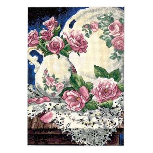 Купить Dimensions Набор для вышивания Розы и кружева 13 х 18 см (6929), Наборы для вышивания