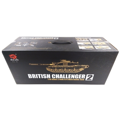 Танк Heng Long British Challenger 2 (3908-1) 1:16 72.5 см