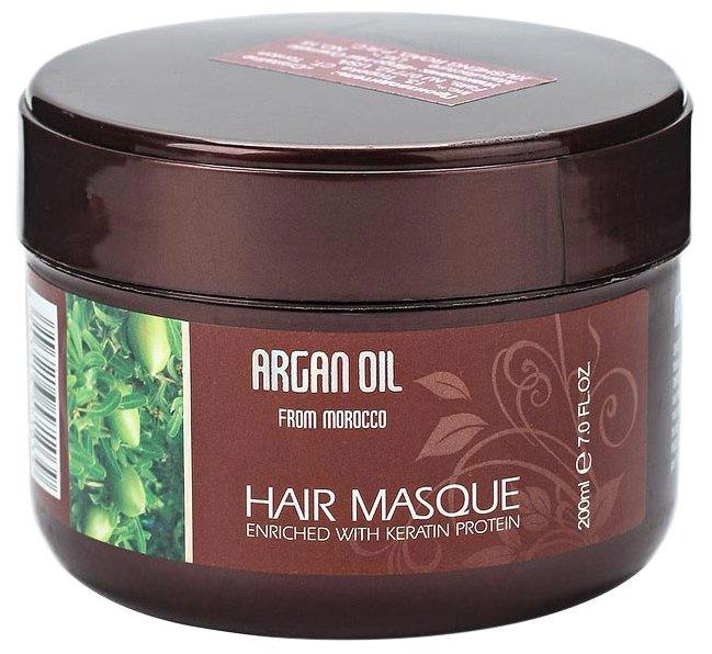 Morocco Argan Oil Маска для волос восстанавливающая с маслом арганы и кератином