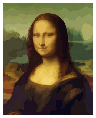 Русская Живопись Картина по номерам Мона Лиза 40х50 см (G014)