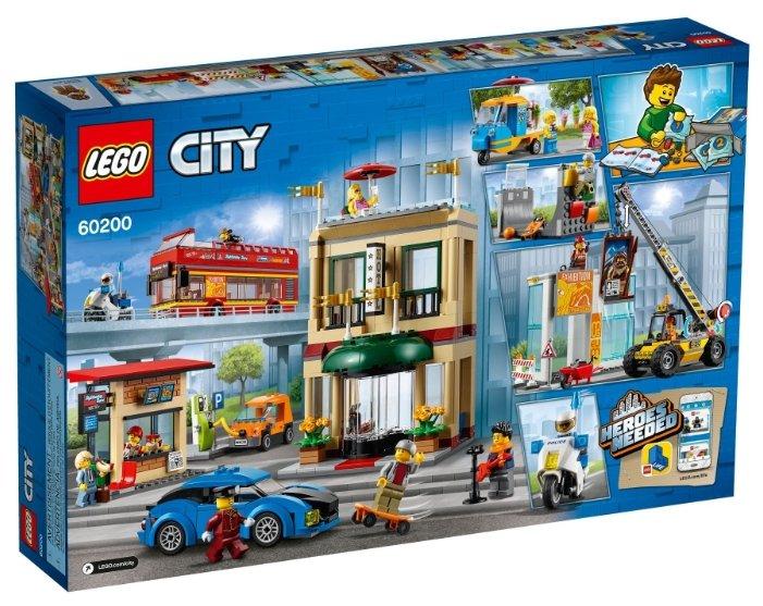 Конструктор LEGO City 60200 Столица цена в Москве, отзывы, характеристики, видео обзор