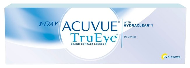 Контактные линзы Johnson & Johnson 1-Day Acuvue TruEye (30 линз / 8.5 / -1.5)