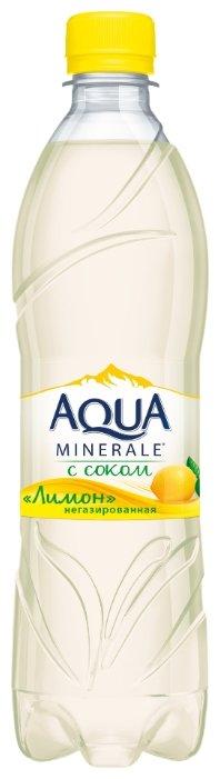 Вода питьевая Aqua Minerale негазированная с соком Лимон, ПЭТ