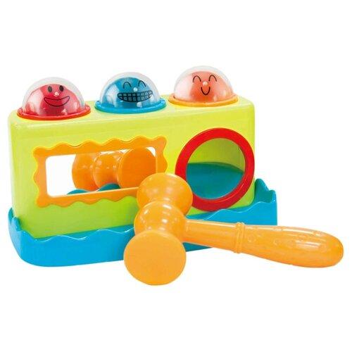 Купить Стучалка Little hero 3017A салатовый/голубой/оранжевый, Развитие мелкой моторики