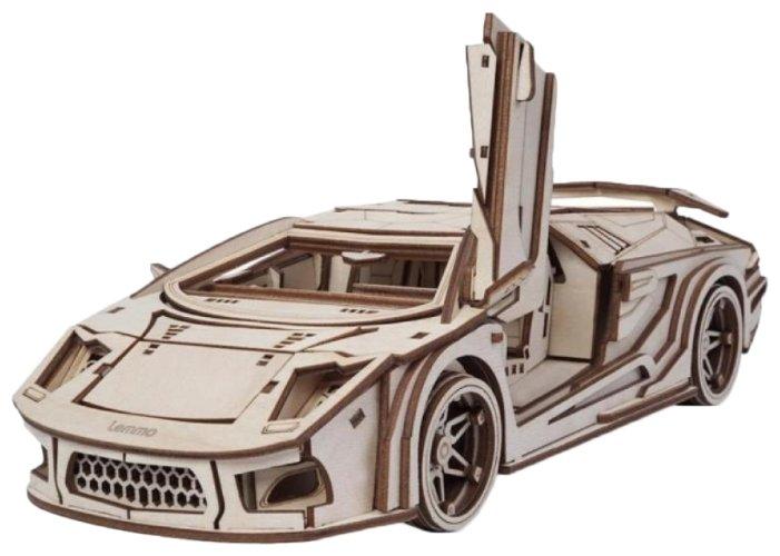 Сборная модель Lemmo Спорткар СКАТ (00-75),,