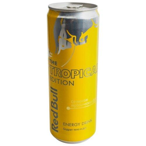 Энергетический напиток Red Bull Tropical edition, 0.355 лЭнергетические напитки<br>