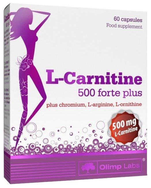 Olimp L-карнитин 500 forte plus (60 шт.)