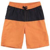 Шорты для плавания playToday размер 104, оранжевый/черный