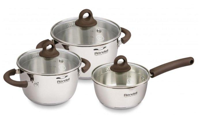 Набор посуды Rondell Aristokrat RDS-919 6 пр.