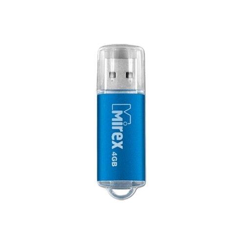 Фото - Флешка Mirex UNIT 4 GB, синий флешка mirex line 4 gb белый
