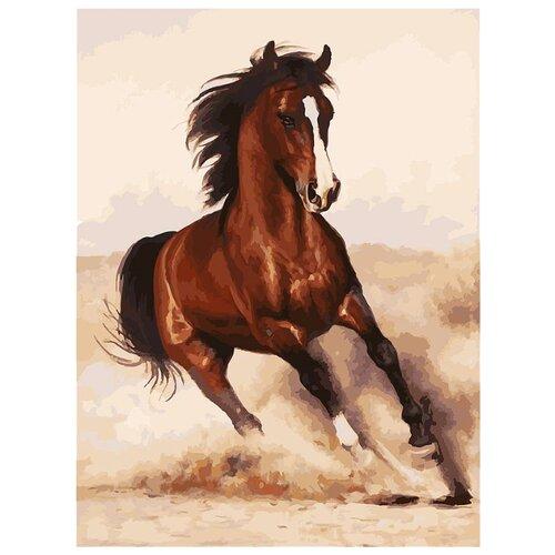 Купить Белоснежка Картина по номерам Галоп 30х40 см (107-AS), Картины по номерам и контурам