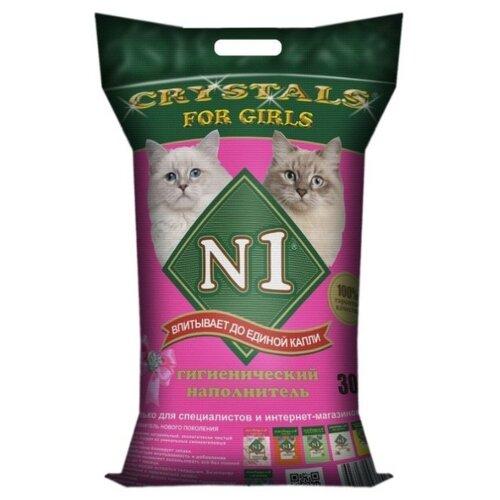 Наполнитель N1 Crystals For Girls (30 л)