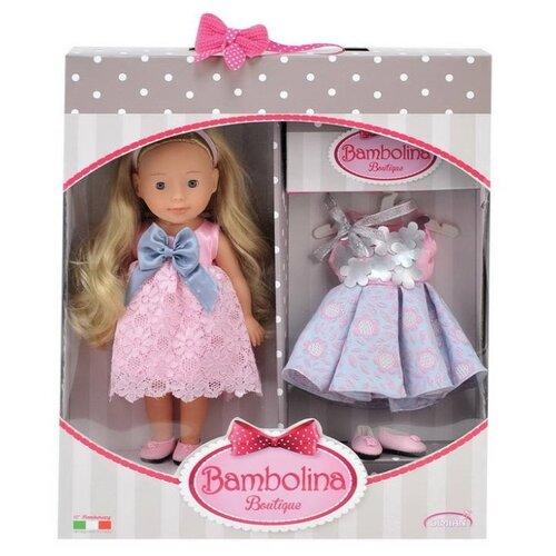 Кукла Dimian Bambolina Маленькая модница с праздничным платьем, 30 см, BD1622Куклы и пупсы<br>