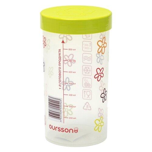 Oursson Банка для жидких и сыпучих продуктов JA55042/GA 1000 мл