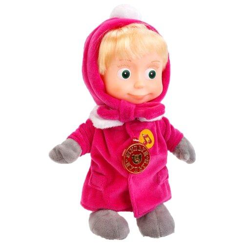 Купить Интерактивная кукла Мульти-Пульти Маша в зимней одежде в коробке, 29 см, V86035/29, Куклы и пупсы