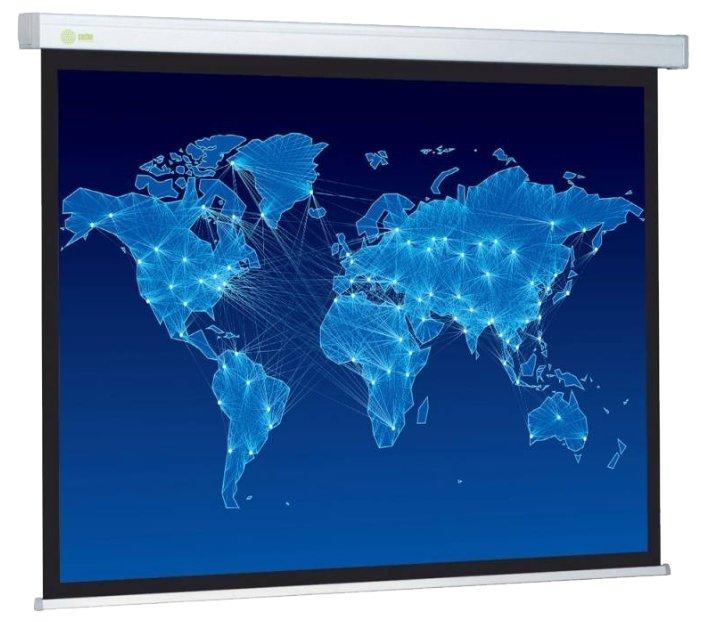 Рулонный матовый белый экран cactus Wallscreen CS-PSW-152x203