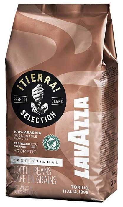 Кофе в зернах Lavazza Tierra Selection