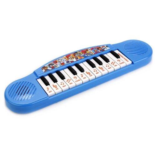 Купить Умка пианино B1371790-R12 голубой, Детские музыкальные инструменты
