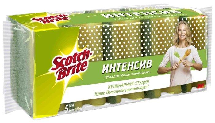 Набор формованных губок для посуды Scotch-Brite