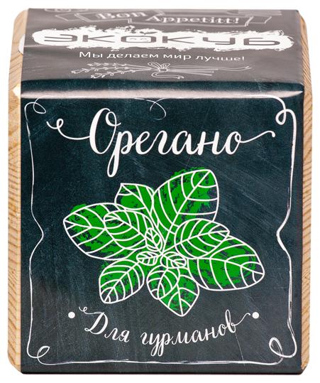 Набор для выращивания Эйфорд Экокуб Орегано ECB-02-04