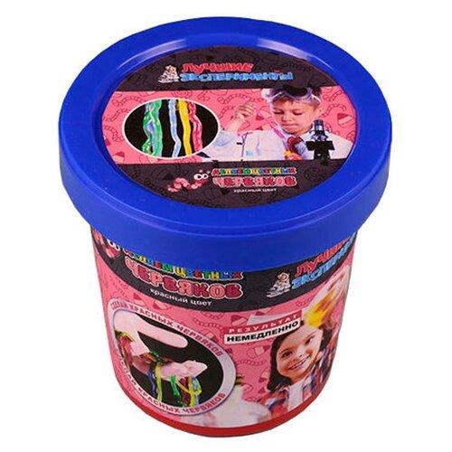 Купить Набор Qiddycome Делаем цветных червяков красный, Наборы для исследований