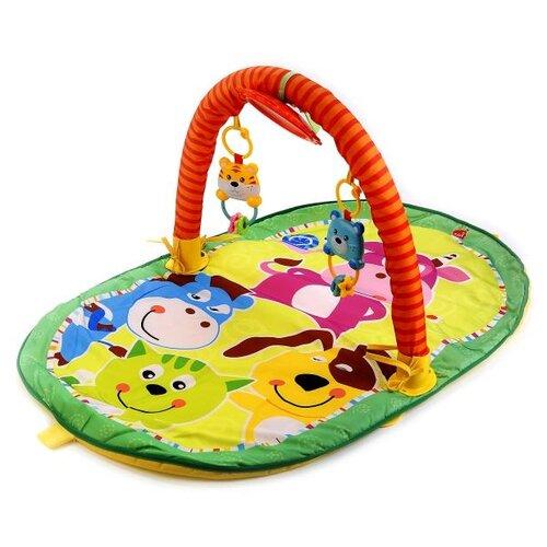 Развивающий коврик Умка Веселые открытия (B1605969-RU) коврик детский умка прямоугольный с дугой для новорожденных веселые открытия в пак в кор 12шт