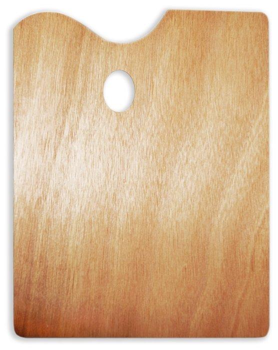 Палитра Малевичъ деревянная прямоугольная 30х40