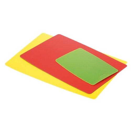 Набор разделочных досок Tescoma PRESTO (3 шт.) желтый/красный/зеленый