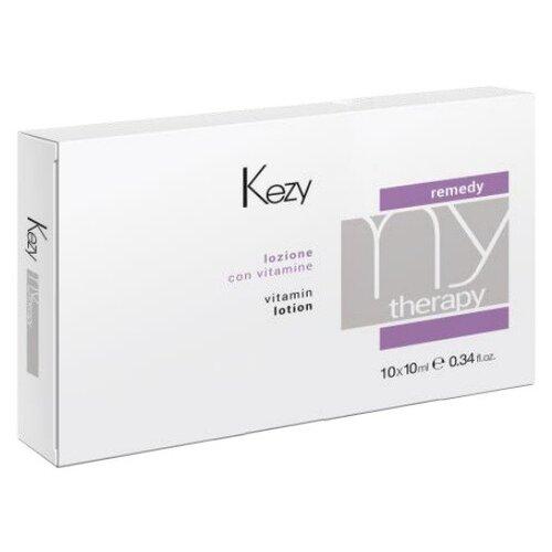 KEZY Mytherapy Лосьон для волос витаминизированный, 10 мл, 10 шт. ducray неоптид лосьон от выпадения волос для мужчин 100 мл