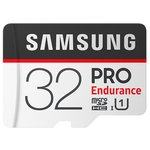 Карта памяти Samsung microSDHC PRO Endurance UHS-I U1 100MB/s + SD adapter