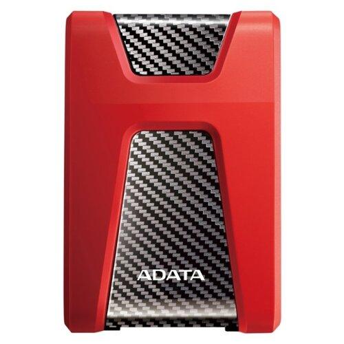 Фото - Внешний HDD ADATA DashDrive Durable HD650 USB 3.1 1 ТБ красный adata hd650 dashdrive durable 1tb 2 5 синий