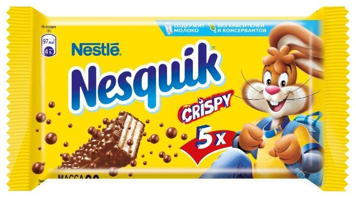 Батончик Nesquik Crispy, 18 г, мультипак