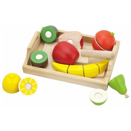 Набор продуктов с посудой Viga Cutting Fruit 58806