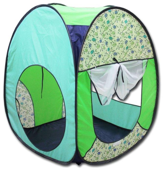 Палатка BELON ПИ-004К-ПР Радужный домик 4 грани Квадрат принт