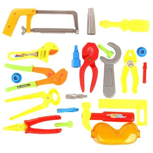 Shantou Gepai Набор инструментов с жилеткой 59183 набор инструментов shantou gepai наша игрушка 6607