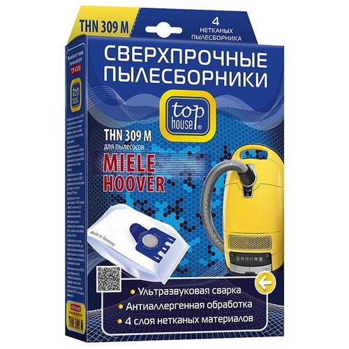 цена на Top House Пылесборники THN 309 M белый 4 шт.